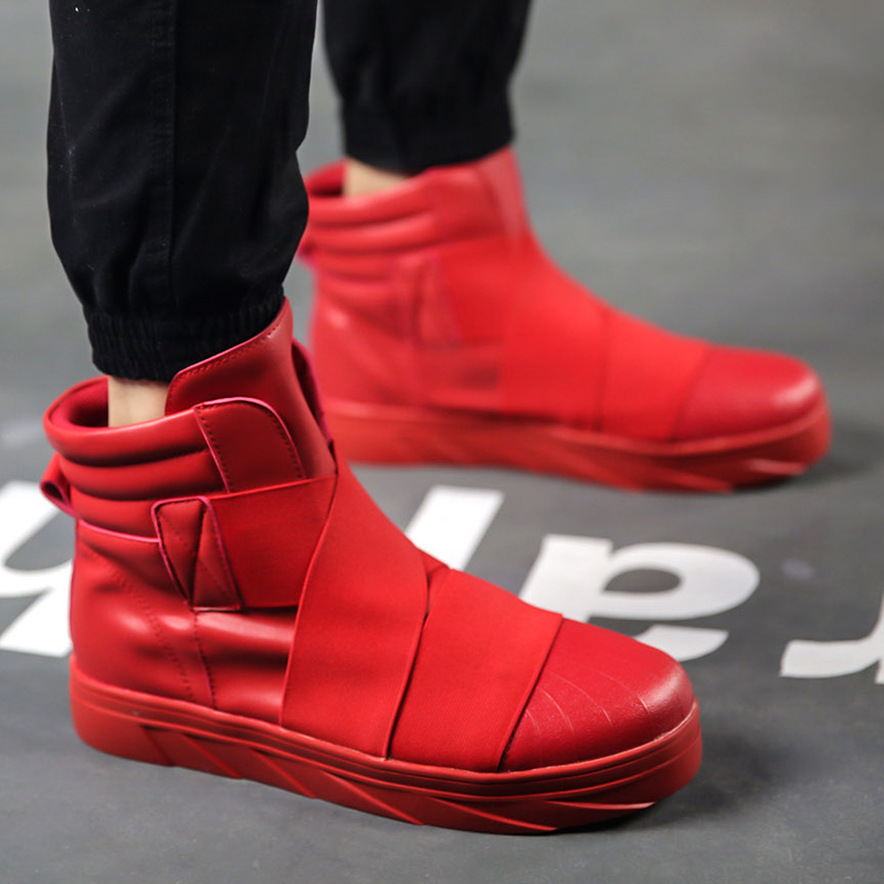 Popular Red Boots Men-Buy Cheap Red Boots Men lots from China Red ...