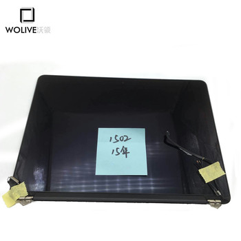 100% Working Complete LCD Screen display Assembly For Macbook Pro Retina 13'' A1502 2015 year with little scratch