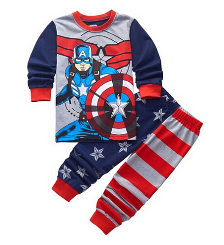 Retail Kids Cartoon pyjamas clothes   sets   Children New Long Sleeve   Pajamas   Baby Girl Boys Sleepwear Clothing   Set   for children