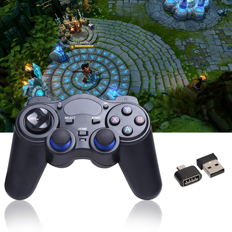 2.4G Wireless Game Gamepad Joystick Controller for TV Box Tablet PC GPD XD  Android Windows with USB RF Receiver Game Control