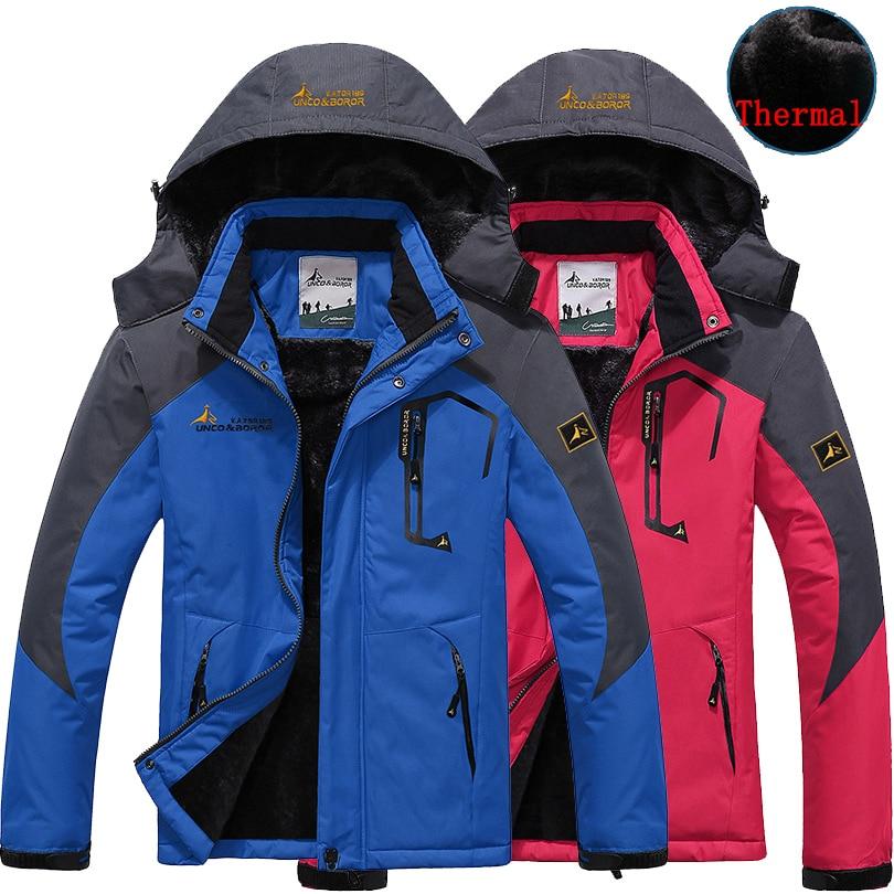 Winter Men Women jacket windbreaker Camping Hiking Down coat for ...