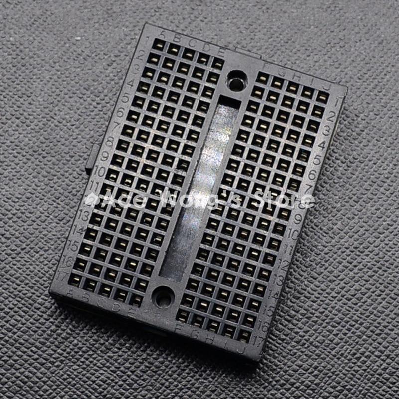 1pcs SYB-170 Mini Solderless Prototype Breadboard 170 Tie-points Black
