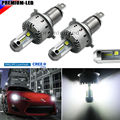 (2) High Power CRE'E-XHP50 LED Headlight Bulbs - H4 9003 HB2 - 6000K Xenon White (No Ballast, Single-Piece, Plug-N-Play Design)
