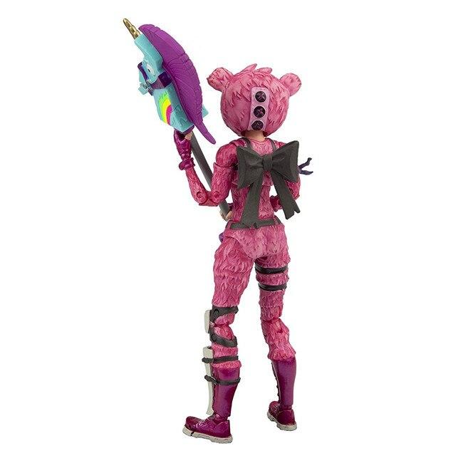 19cm New Hot Fortress Night Battle Royale Trooper Cuddle Team Leader Pink Premium 7 2
