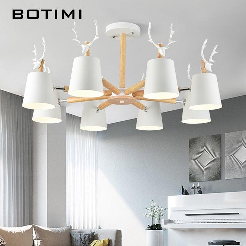 BOTIMI Moderna LED Lampadario di Illuminazione Per Soggiorno camera ...
