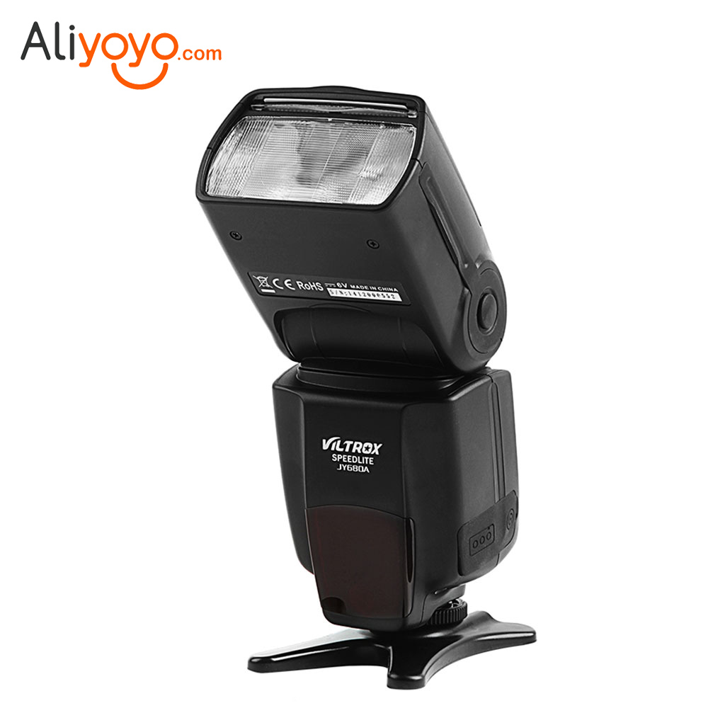 JY-680A Universal LCD Flash Speedlight GN33 for Canon Nikon Pentax Olympus Camera viltrox jy 680 universal flash speedlight for canon nikon pentax olympus cameras