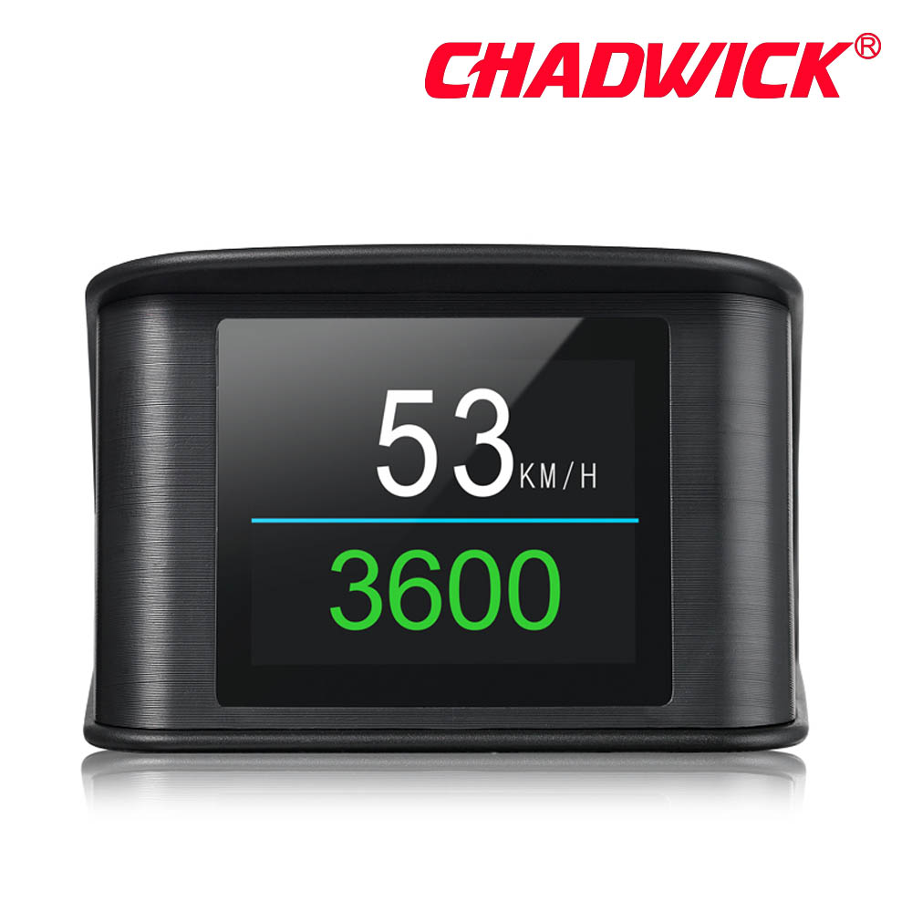 Image 3 - Automobile Trip On board Computer HUD Car Digital OBD2 OBD Driving Computer Display Speedometer Temperature Gauge CHADWICK P10-in Head-up Display from Automobiles & Motorcycles