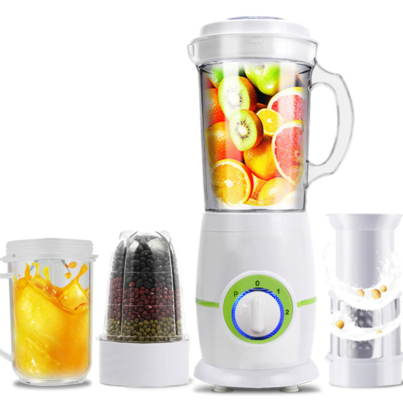 Blenders Juicer USES fully automatic fruit and vegetable multi-functional small fry juice machine. blenders the multi functional cooking machine uses the smart juice to grind mincing machine