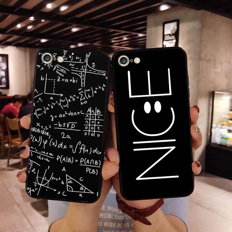 Engraçado amor coração casal tpu silicone caso de telefone para o iphone x 6 7 8 plus xr xs max cartoon planet padrão fosco volta escudo