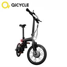Оригинальный Mijia QiCYCLE Электрический велосипед EF1 мини электрический Ebike 16 дюймов Умный складной велосипед умный велосипедный датчик крутящего момента мопед Xiaomi