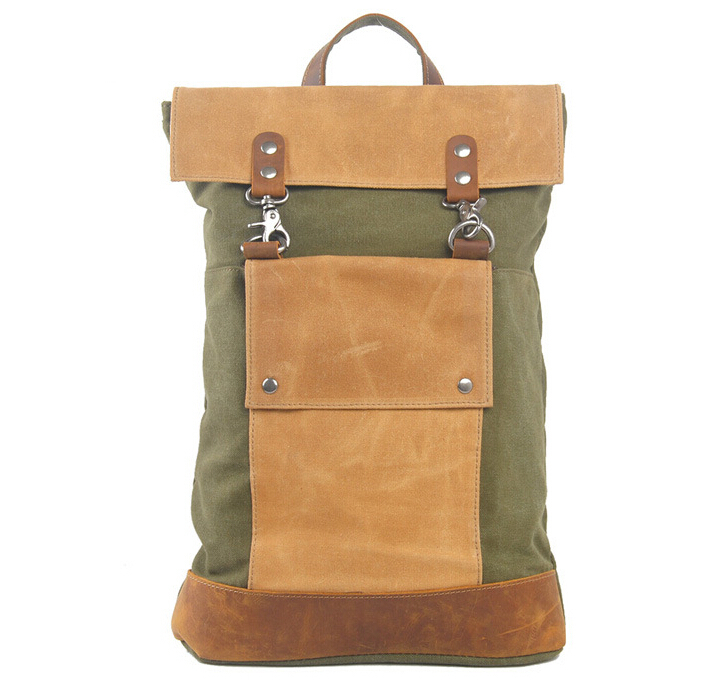 Men Casual Crazy Leather Canvas Vintage School Bag Young Large Capacity Travel Women Mochila 15 inch Laptop Backpack Rucksack jmd backpacks for teenage girls women leather with headphone jack backpack school bag casual large capacity vintage laptop bag