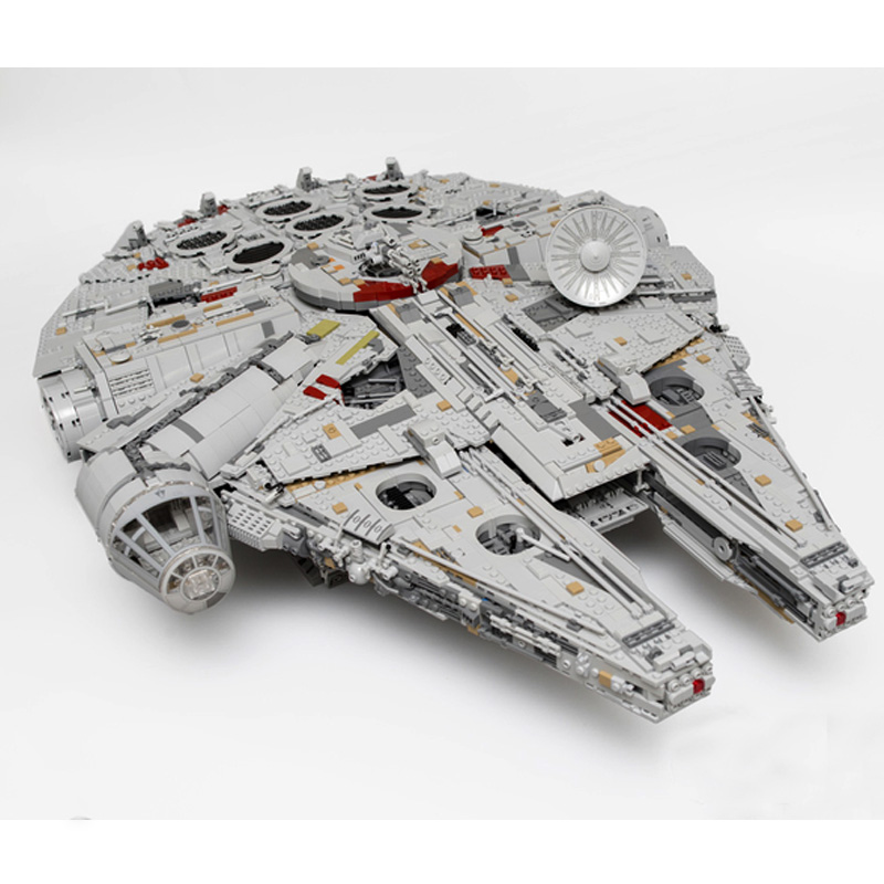 Star Wars Lepin 05132 Star Destroyer Millennium Falcon Compatible