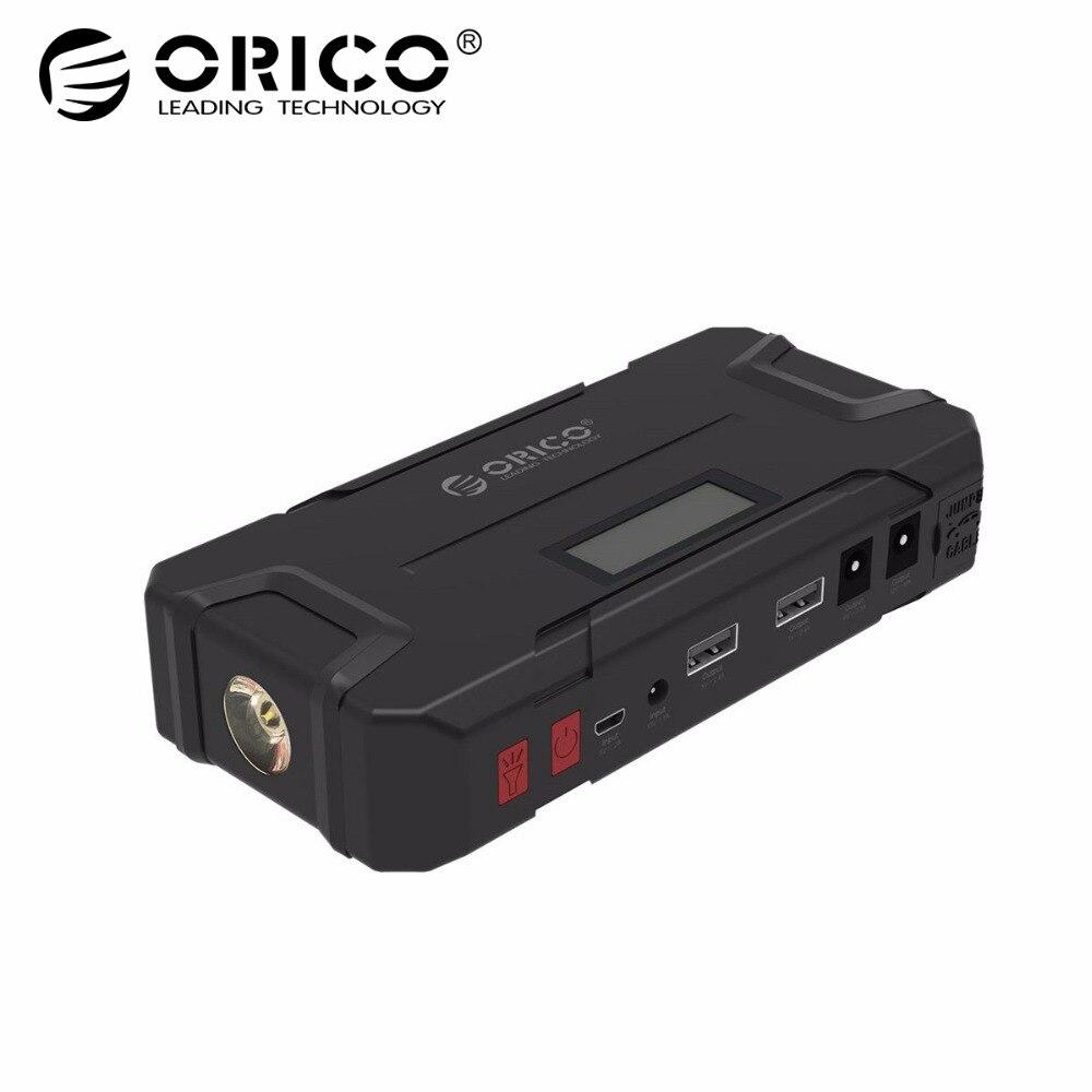 ORICO CS2 12000 mah Mini Banque D'alimentation de Secours Portable Mobile Batterie D'urgence Booster Buster Puissance Banque Pour Téléphone Portable De Voiture