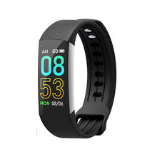 Smart Bracelet Bluetooth Synchronization Life Waterproof Fitness Tracker Touch Screen Heart Rate blood pressure Monitor Display все цены