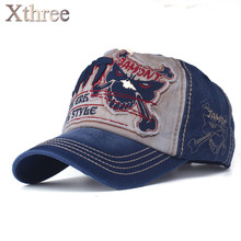 [xthree] cotton fasion Leisure baseball cap Hat for men Snapback hat casquette women's cap wholesale fashion Accessories