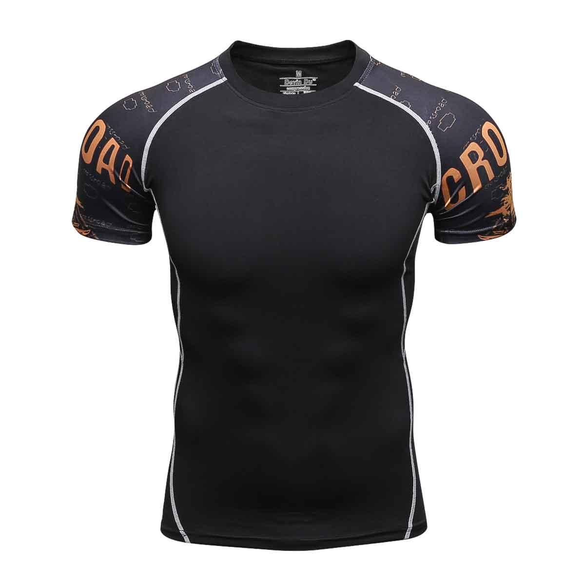 2018 хлопковая Футболка Для мужчин прохладный черный летние шорты рукавами футболка смешные Повседневное EU/us Размеры футболки