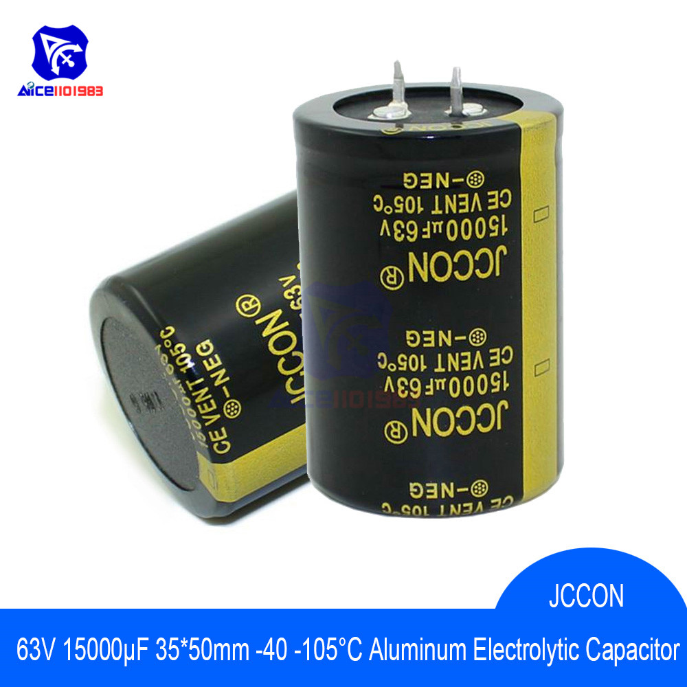 Aluminum Electrolytic Capacitor 63V 15000uF 35x50mm High Frequency Low ESR 63V15000μF 35*50mm Capacitor