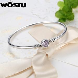 Image 3 - Подлинный 925 пробы серебряный браслет с подвесками, оригинальный браслет с бусинами и цепочкой, браслет для женщин, уникальный браслет, подходит для самостоятельного изготовления ювелирных изделий, подарок