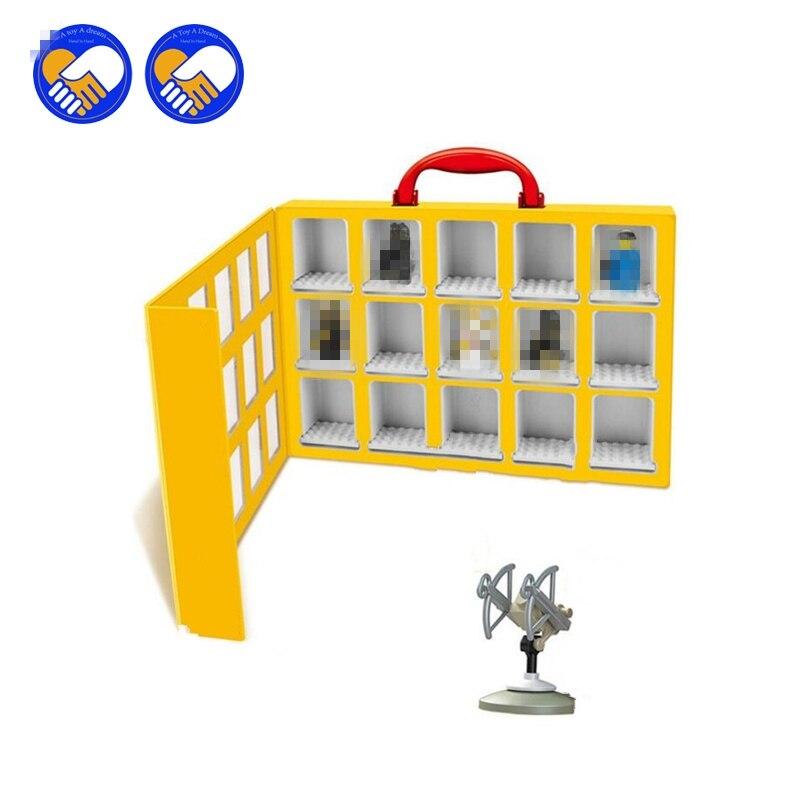 (A Toy A Dream)2017 New 79060 Portable Mini house Display Case Building Blocks Toys Storage Box