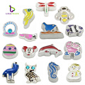 "10PCS!! 8MM ""Lovely"" Floating charms Zinc Alloy Fit Floating lockets & Floating locket bracelet LSFC021-LSFC406*10"