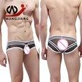 WJ Sexy Boys Underwear Cueca Calzoncillos Гей Мальчики Sexy Men Underwear Sous Vetement Homme Спандекс Мужчины Прозрачный Underwear