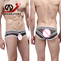 WJ Sexy Boys Underwear Cueca Gay Boys Sexy Men Underwear Sous Vetement Homme Calzoncillos Spandex Men Transparent Underwear