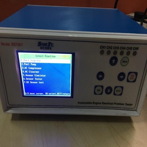 BST601 - 12V voltage automotive engine electrical problem tester (test sensors, wires, ECU, fuel injectors, pump, components) Lahore