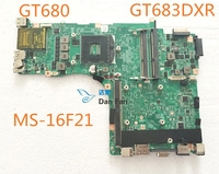 MS-16F21 For MSI GT683DXR Laptop Motherboard VER:1.0 VER:1.2 VER:2.0 Mainboard 100%tested fully work