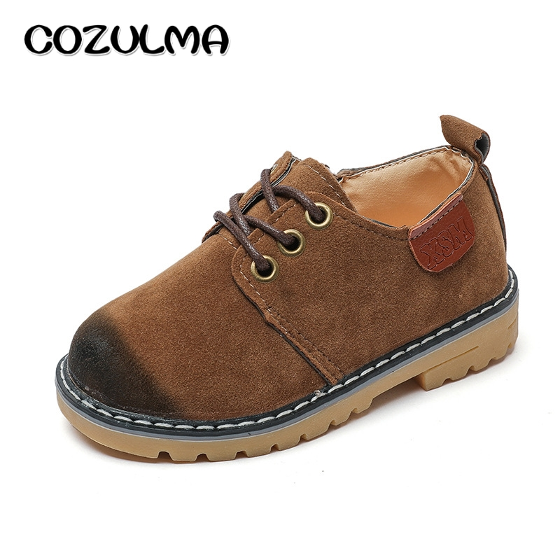 COZULMA Autumn Children Sneakers Kids Casual Shoes Boys Girls PU Leather Sport Shoe Kid Toddler Sneaker Baby Outdoor Martin Boot