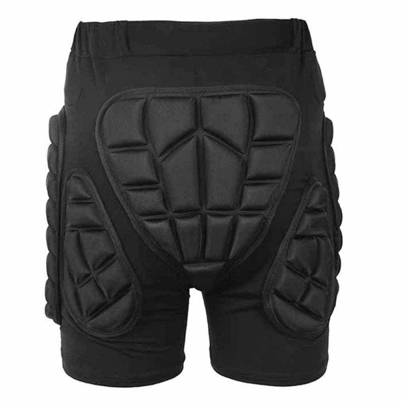 Hot Protective Hip Padded Shorts Snowboard Skiing Skating Black Impact Protection