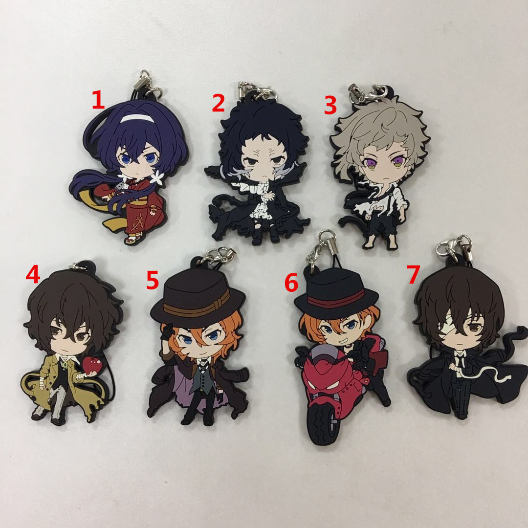 Anime THE IDOLM@STER Rubber keychain Straps cosplay