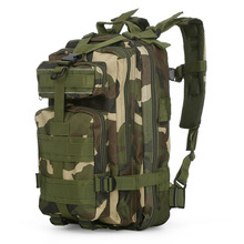 3P Military 30L Backpack Assault Pack Sports Bag Army Molle Bug Out for Hiking Camping Hunting Tactical Back