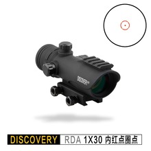 Discovery red dot RDA 1X30 optical sight Tactical rifle scope Optics Hunting collimator For AK47 AR15 Fit  Picatinny 20mm Rail стоимость