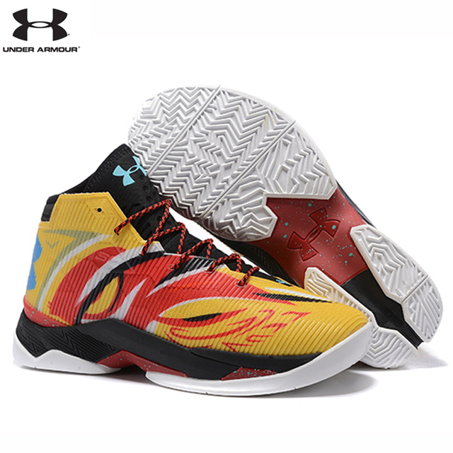 f2903e9a60b UNDER ARMOUR Men s UA Curry Unique V 2.5 Sport Basketball Sneakers Chinese  Facial Mask Elements High Quality Outdoor Shoes 40-45