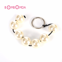 2.5cm Butt Plug Anal Beads Pearl Chain Anal Sex Toys For Women Adult Game Sex Products