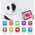 720 P HD Sem Fio Wi-fi Câmera IP P2P Onvif Visão Nocturna do IR Vigilância de Segurança em casa Câmera P/T De Alarme De Vídeo com Slot Para Cartão TF