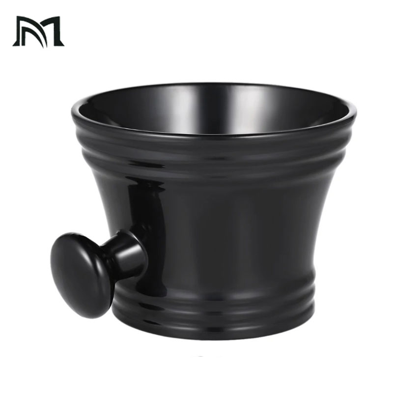 Man Shaving Mug Bowl With Handle Soap Mug Bowl Cup For Shave Brush Plastic Male Face Cleaning Mug Cup Tools For Razor Brush C12