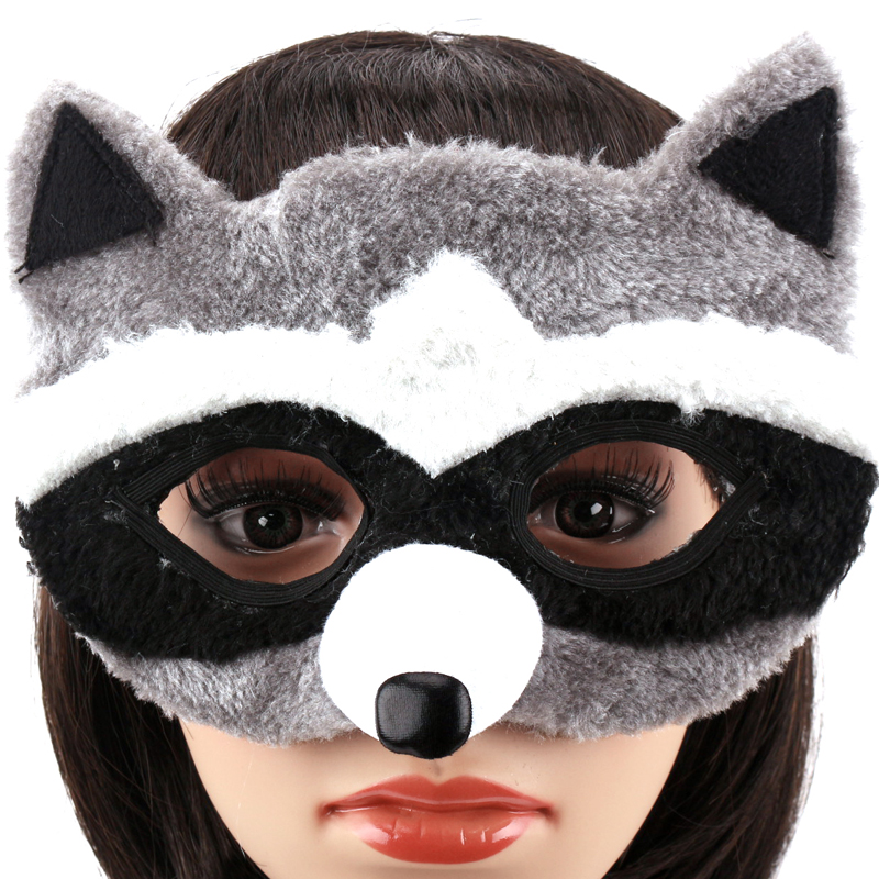 1 st Halloween Party Animal Masks Cosplay Masque Kostym Tillbehör - Semester och fester - Foto 2