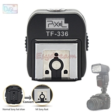 Pixel TF 336 TTL Hot Shoe Adapter for Sony New Multi Interface Flash to Normal Old Interface Camera A100 A200 A230 A330 A350