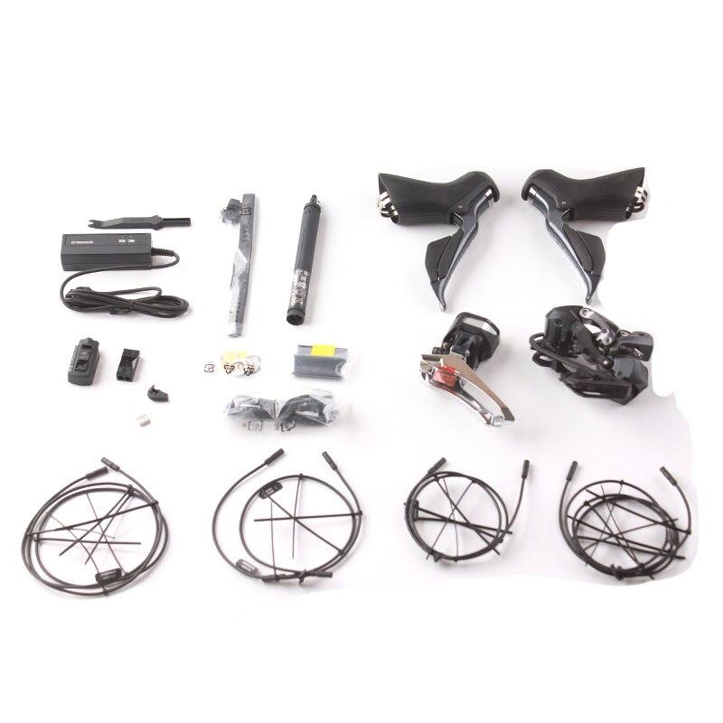 Shimano ULTEGRA R8000 R8050 Di2 pièces électriques groupe vélo de route 2x11 S vitesses Kit vélo comprend toutes les pièces électroniques