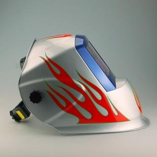 2018new Free shipping Silver Flame High Quality Welding Mask Auto Dimming Welding Helmet Art Helmet good goods серьги art silver art silver ar004dwzmh30