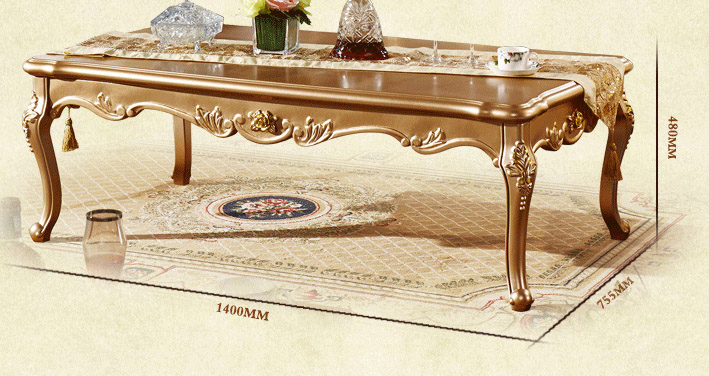 the new european long coffee table large sized apartment