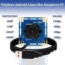 1080p hd  mini micro camera mjpeg usb2.0 uvc webcam module   ELP-USBFHD01M-L36