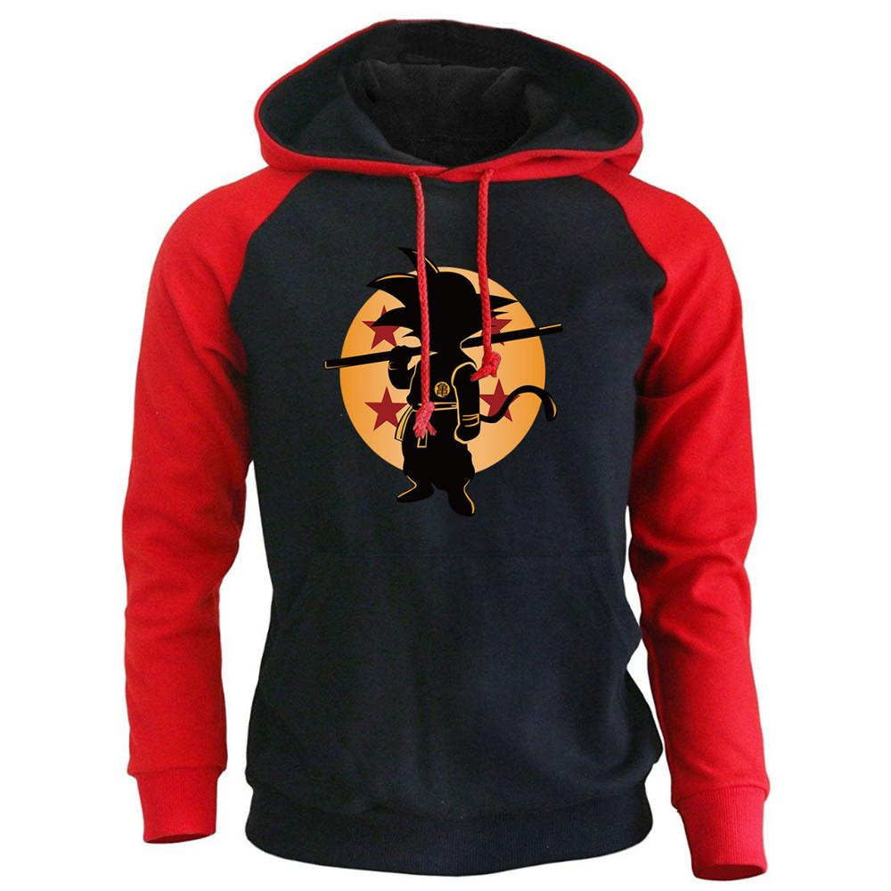 Dragon Ball Z Anime Hoodies Male 2018 Fashion Brand Clothing Super Saiyan Sweatshirts Harajuku Men's Sportswear Hoody Sweatshirt