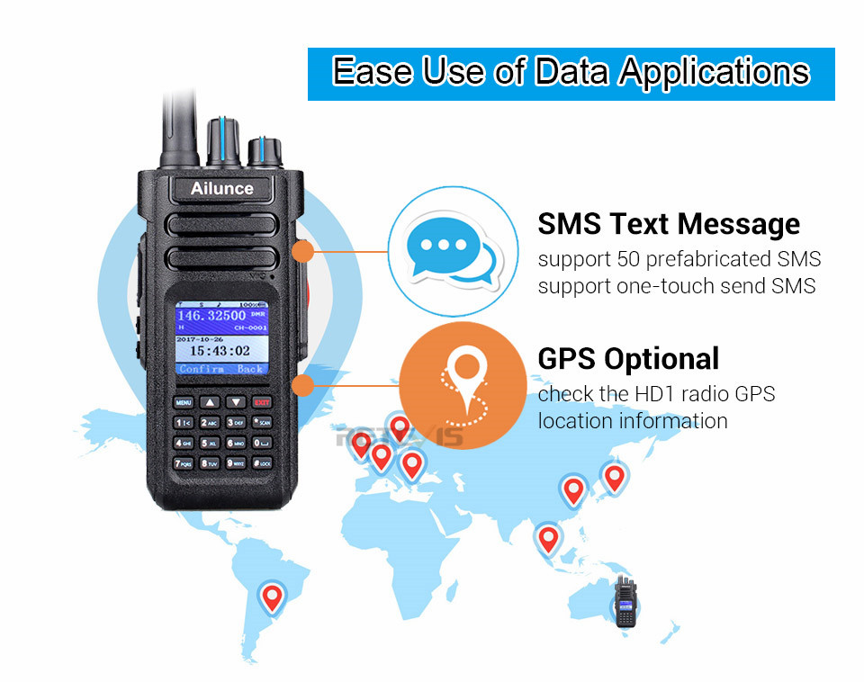 DMR Air Walkie Tahan 10