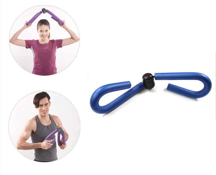 Brand New Blue Workout Equipment Thigh Master Hip Leg Arm Slim Exerciser Free Shipping Drop In Other Sports Entertainment From