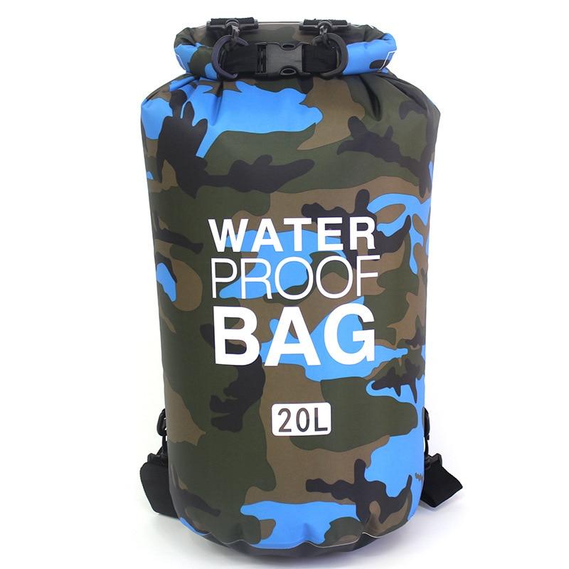Suya davamlı çanta Ultralight Camping Quru Təşkilatçı - İdman çantaları - Fotoqrafiya 3