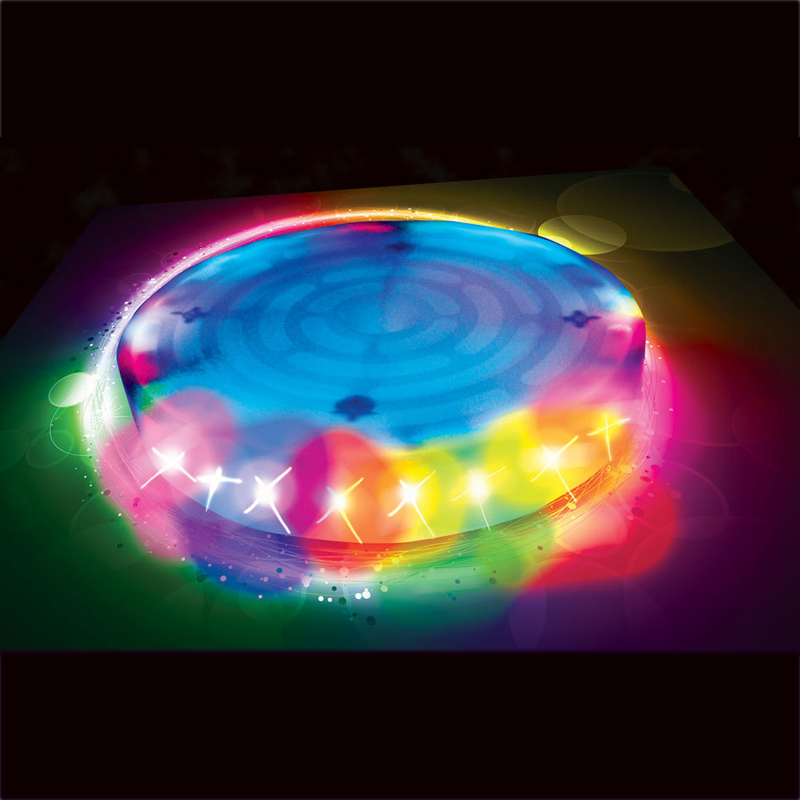 Kids Slackers Swing Seat Glowing Night Riderz Led Disc Flying Saucer