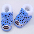 Newborn Baby Shoes Toddler Shoes Soft Bottom Baby Leopard Suede Shoes And Warm Winter Newborn 0-1 Years WMC2103