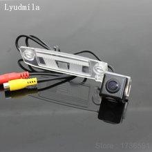 עבור KIA Sportage SL/Sportage R/Opirus/Amanti/בורגו/Mohave רכב לגבות הפוך אחורי תצוגת מצלמה/HD CCD ראיית לילה